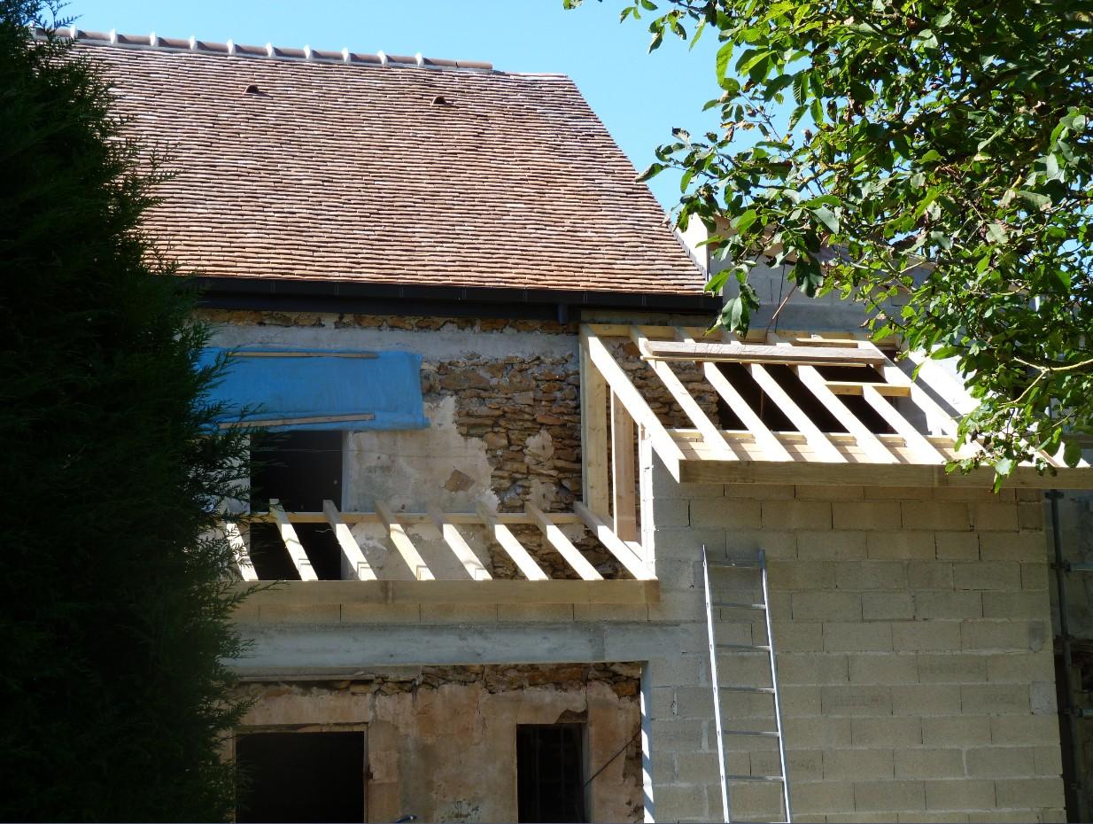 Travaux toiture et extension